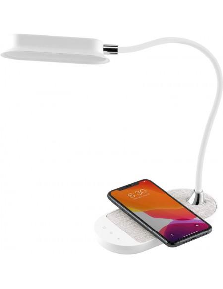 Lámpara Led con Cargador Qi