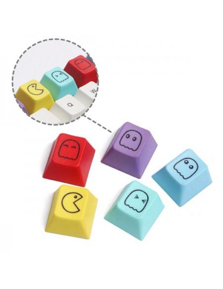 Set 5 Keycaps Pac-Man