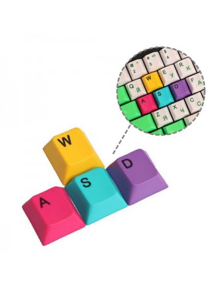 Set 4 Keycaps WASD
