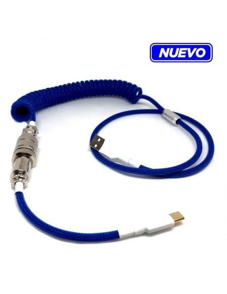 Custom Coiled Cable para Teclado...