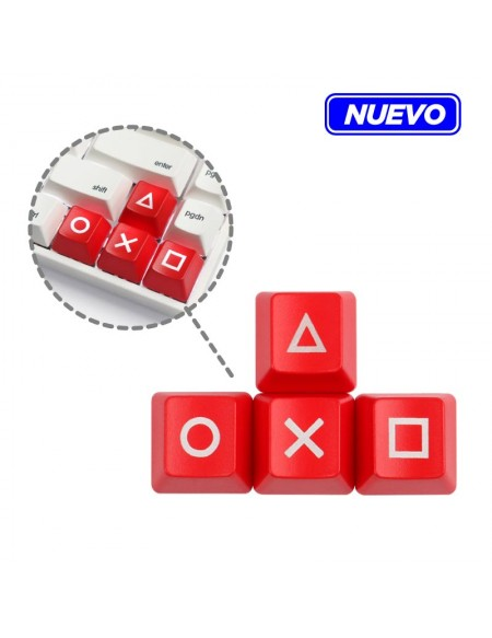 Set 4 Keycaps PlayStation