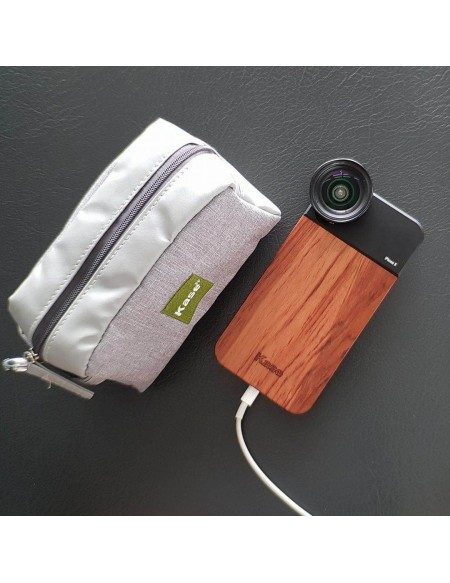 Pack Lente Fisheye + Case...